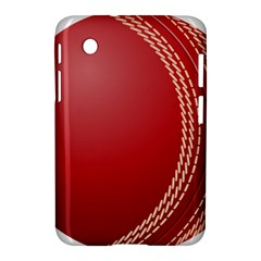 Cricket Ball Samsung Galaxy Tab 2 (7 ) P3100 Hardshell Case  by Sapixe