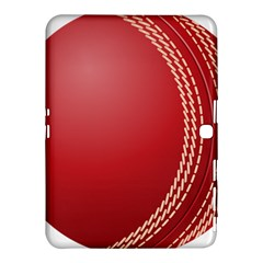 Cricket Ball Samsung Galaxy Tab 4 (10 1 ) Hardshell Case  by Sapixe