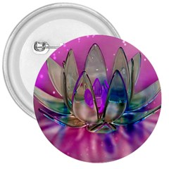 Crystal Flower 3  Buttons by Sapixe