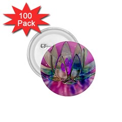 Crystal Flower 1 75  Buttons (100 Pack)  by Sapixe