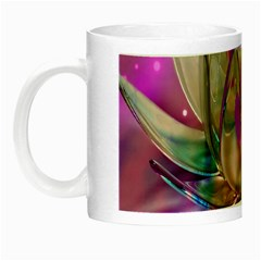 Crystal Flower Night Luminous Mugs