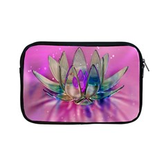 Crystal Flower Apple Ipad Mini Zipper Cases by Sapixe
