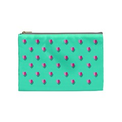 Love Heart Set Seamless Pattern Cosmetic Bag (medium)  by Nexatart