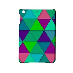 Background Geometric Triangle Ipad Mini 2 Hardshell Cases by Nexatart