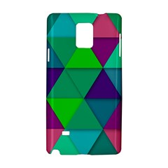 Background Geometric Triangle Samsung Galaxy Note 4 Hardshell Case