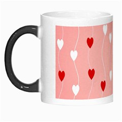 Heart Shape Background Love Morph Mugs by Nexatart