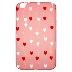 Heart Shape Background Love Samsung Galaxy Tab 3 (8 ) T3100 Hardshell Case