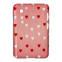 Heart Shape Background Love Samsung Galaxy Tab 2 (7 ) P3100 Hardshell Case
