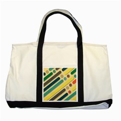 Background Vintage Desktop Color Two Tone Tote Bag