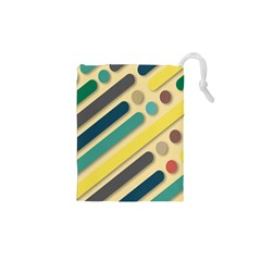 Background Vintage Desktop Color Drawstring Pouches (xs)  by Nexatart