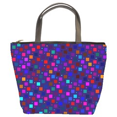 Squares Square Background Abstract Bucket Bags