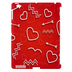 Background Valentine S Day Love Apple Ipad 3/4 Hardshell Case (compatible With Smart Cover) by Nexatart