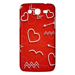 Background Valentine S Day Love Samsung Galaxy Mega 5 8 I9152 Hardshell Case  by Nexatart