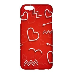 Background Valentine S Day Love Apple Iphone 6 Plus/6s Plus Hardshell Case