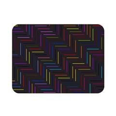 Lines Line Background Double Sided Flano Blanket (mini)