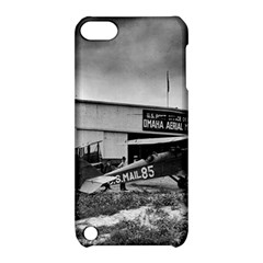 Omaha Airfield Airplain Hangar Apple Ipod Touch 5 Hardshell Case With Stand
