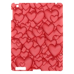 Background Hearts Love Apple Ipad 3/4 Hardshell Case