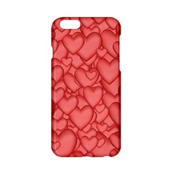 Background Hearts Love Apple Iphone 6/6s Hardshell Case by Nexatart