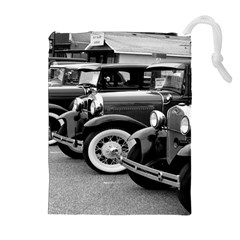 Vehicle Car Transportation Vintage Drawstring Pouches (extra Large)
