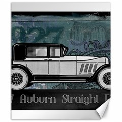 Vintage Car Automobile Auburn Canvas 20  X 24