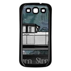Vintage Car Automobile Auburn Samsung Galaxy S3 Back Case (black) by Nexatart