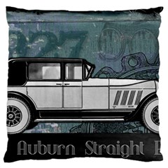 Vintage Car Automobile Auburn Large Flano Cushion Case (one Side)