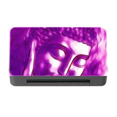 Purple Buddha Art Portrait Memory Card Reader With Cf by yoursparklingshop