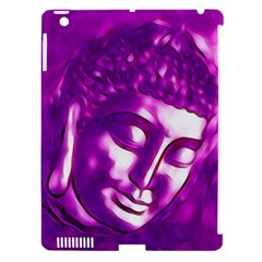 Purple Buddha Art Portrait Apple Ipad 3/4 Hardshell Case (compatible With Smart Cover) by yoursparklingshop