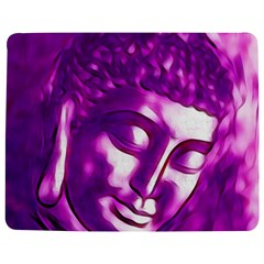 Purple Buddha Art Portrait Jigsaw Puzzle Photo Stand (rectangular) by yoursparklingshop