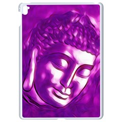 Purple Buddha Art Portrait Apple Ipad Pro 9 7   White Seamless Case by yoursparklingshop