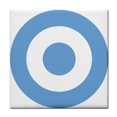 Roundel Of Argentine Air Force Tile Coasters by abbeyz71
