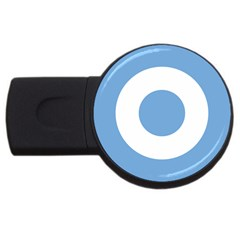 Roundel Of Argentine Air Force Usb Flash Drive Round (2 Gb) by abbeyz71