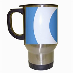 Roundel Of Argentine Air Force Travel Mugs (white) by abbeyz71