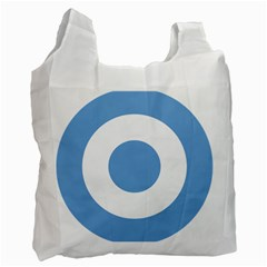 Roundel Of Argentine Air Force Recycle Bag (one Side) by abbeyz71