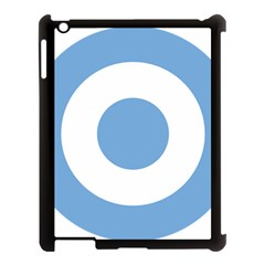 Roundel Of Argentine Air Force Apple Ipad 3/4 Case (black) by abbeyz71