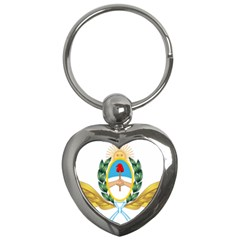 The Argentine Air Force Emblem  Key Chains (heart)  by abbeyz71