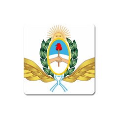 The Argentine Air Force Emblem  Square Magnet by abbeyz71