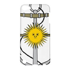 Symbol Of Argentine Navy  Apple Ipod Touch 5 Hardshell Case by abbeyz71
