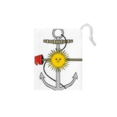 Symbol Of Argentine Navy  Drawstring Pouches (xs)  by abbeyz71