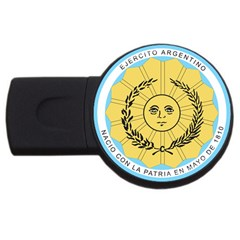 Seal Of The Argentine Army Usb Flash Drive Round (2 Gb) by abbeyz71