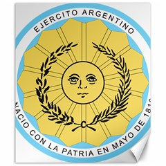 Seal Of The Argentine Army Canvas 20  X 24   by abbeyz71
