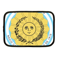 Seal Of The Argentine Army Netbook Case (medium)  by abbeyz71