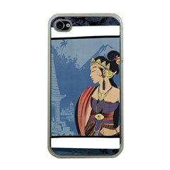 Java Indonesia Girl Headpiece Apple Iphone 4 Case (clear)