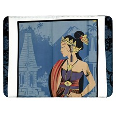 Java Indonesia Girl Headpiece Samsung Galaxy Tab 7  P1000 Flip Case