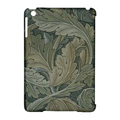 Vintage Background Green Leaves Apple Ipad Mini Hardshell Case (compatible With Smart Cover) by Nexatart