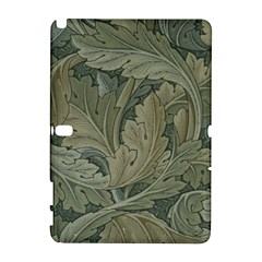 Vintage Background Green Leaves Galaxy Note 1 by Nexatart