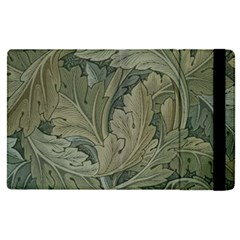 Vintage Background Green Leaves Apple Ipad Pro 12 9   Flip Case by Nexatart