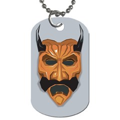 Mask India South Culture Dog Tag (two Sides) by Nexatart