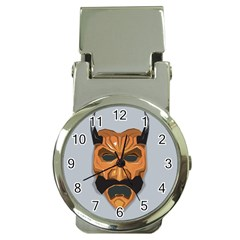 Mask India South Culture Money Clip Watches by Nexatart