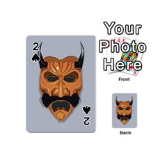 Mask India South Culture Playing Cards 54 (mini)  by Nexatart